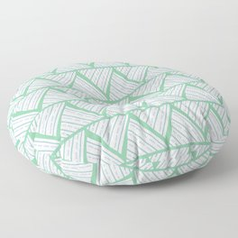 first doodle finished Floor Pillow