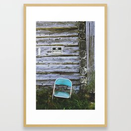 Faust with Nothing Framed Art Print