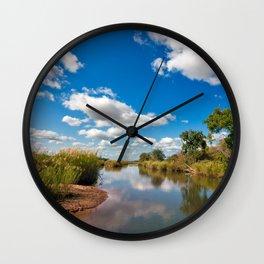 Kruger Park Landscape Wall Clock