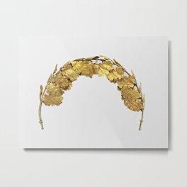 Roman Golden Head Wreath (1st Century) Metal Print