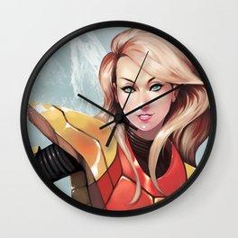Zero Mission Wall Clock