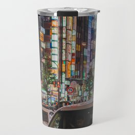 Tokyo feels : Shinjuku blue 6 Travel Mug