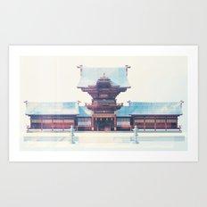 Temple No.1 Art Print