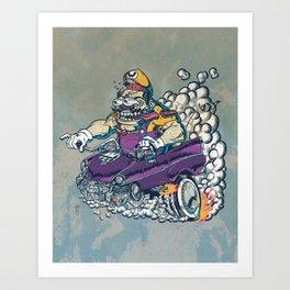 Wario Fink Art Print