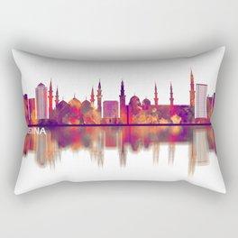 Medina Saudi Arabia Skyline Rectangular Pillow