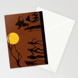 Rogue Halloween Stationery Cards