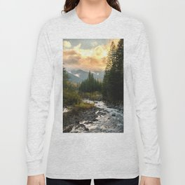 The Sandy River I - nature photography Long Sleeve T-shirt