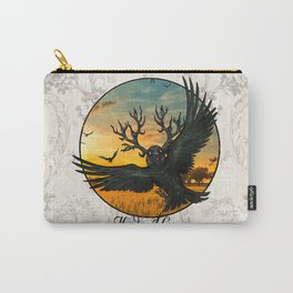 Malphas Halphas and the Murder of Crows Carry-All Pouch