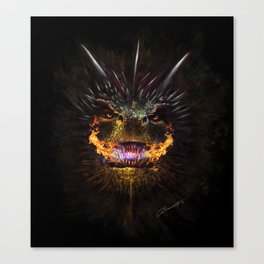 Drogon's Wrath Canvas Print