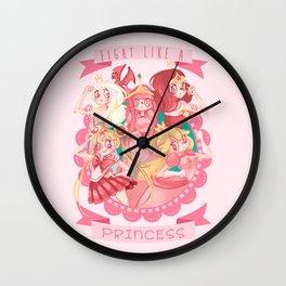 Fight like a Princess! Wall Clock