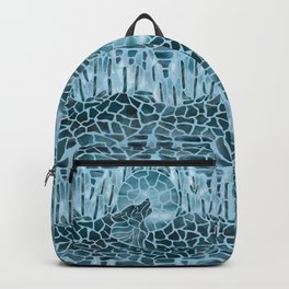 Moonlight Story (Light Blue) Backpack