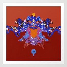 Toon Rorschach I Art Print