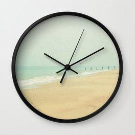 Sea Mist Wall Clock