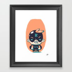 Kaptain 14 Framed Art Print