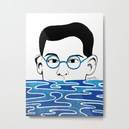 Alfredo's portrait Metal Print