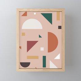 Abstract Geometric 31 Framed Mini Art Print