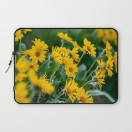 No. 7 Okanagan Sunflowers at Dawn Laptop Sleeve