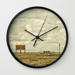 Gas Wall Clock