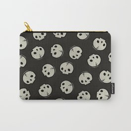 Skull Pattern (BLACK) Carry-All Pouch