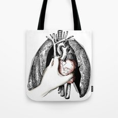 Lungs and Heart Tote Bag