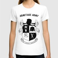 army T-shirts featuring Armitage Army by Circus Doll