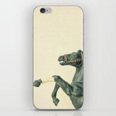 The Black Horse iPhone & iPod Skin