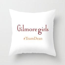Gilmore Girls - Team Dean Throw Pillow