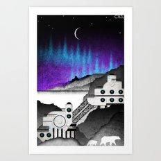 Station//Arctic (3 of 6) Art Print