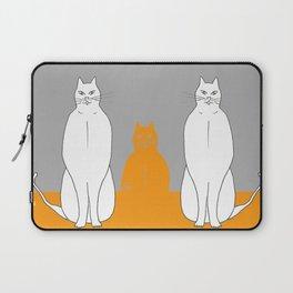 Cat sarcophagus Laptop Sleeve
