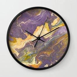 untitled | fluid acrylics Wall Clock