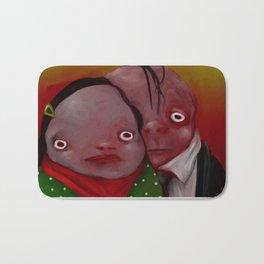 The strange couple Bath Mat