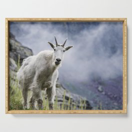 Mountain Goat Serving Tray