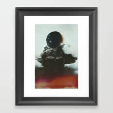 Final Eclipse Framed Art Print