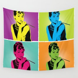 Miss Audrey Wall Tapestry