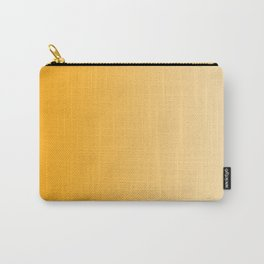 Orange to Pastel Orange Vertical Linear Gradient Carry-All Pouch