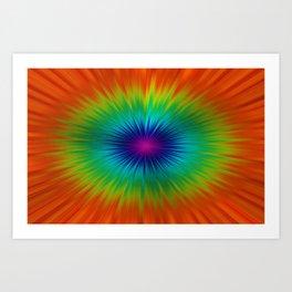 Burst of Colour Art Print