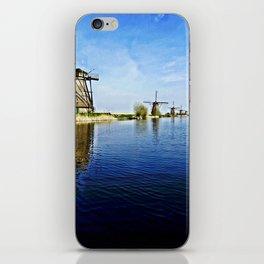 Windmills Holland iPhone Skin