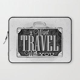 Journey tourist suitcase Laptop Sleeve
