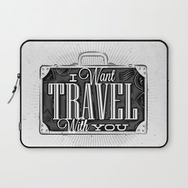 Journey tourist suitcase Laptop Sleeve