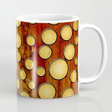 Wood and gold Coffee Mug