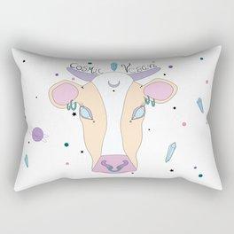 Cosmic Cow Rectangular Pillow