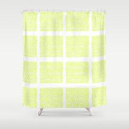 The green green grass of home - a handmade pattern Shower Curtain