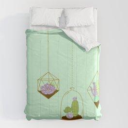 Cactus Terrarium Comforters