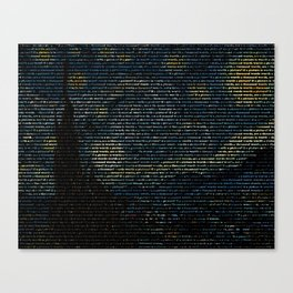 Painting with Words Canvas Print