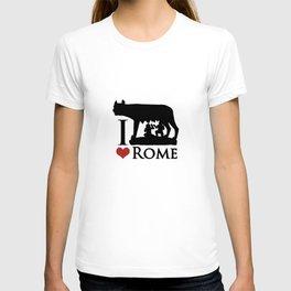 I Love Rome GI Love Rome Graphic Iconraphic Icon T-shirt
