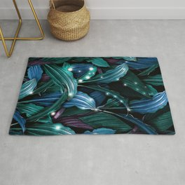 Tropical Magic Forest Rug
