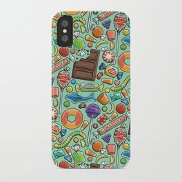 Candy Pattern iPhone Case
