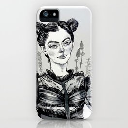 Lorde Outside lands iPhone Case