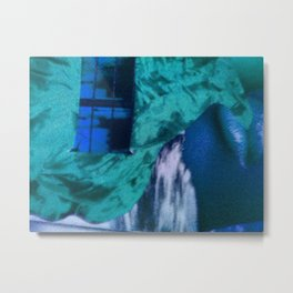 Blue Filter Metal Print
