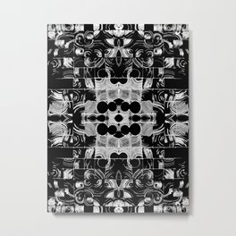 Circular Panel Metal Print